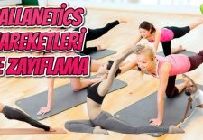 Callanetics Egzersizleri ile Zayıflama ve İncelme