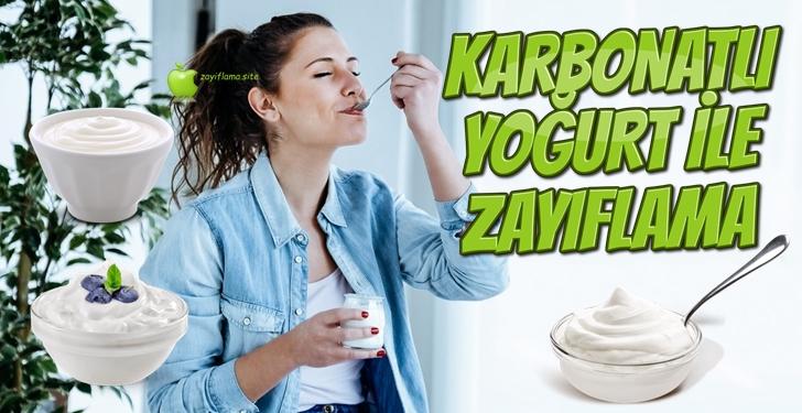 Karbonatlı Yoğurt İle Zayıflama | 2 Haftada 7 Kilo!