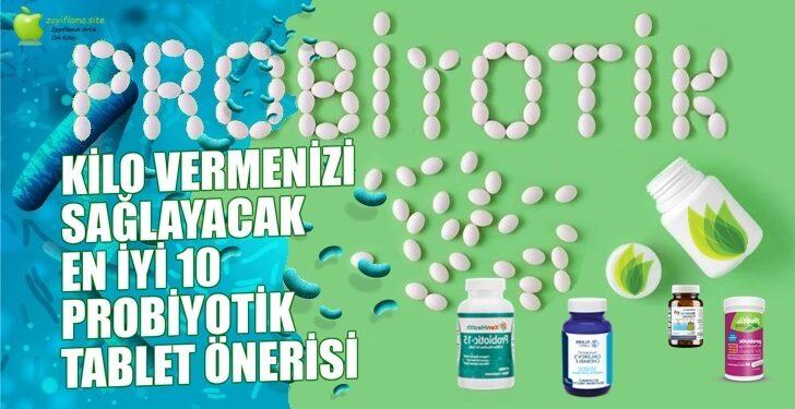 Probiyotikler Zayıflatır Mı?   En İyi 10 Probiyotik Önerisi