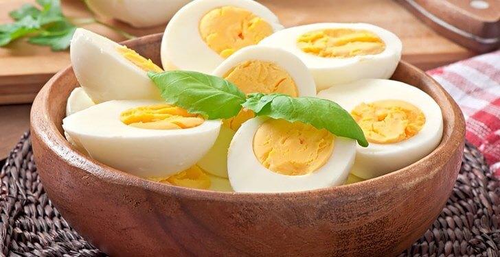 1 Günde 1 Kilo Verdiren Yumurta Diyeti