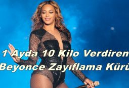 1 Ayda 10 Kilo Verdiren Beyonce Zayıflama Kürü
