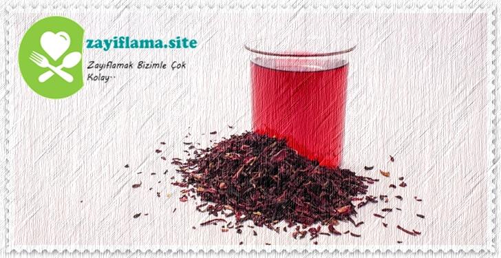 1 Ayda 4-5 Kg Verdiren Hibisküs Çayı ile Kilo Verme Hızınızı Arttırabilirsiniz