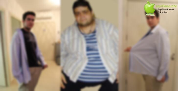 4 Ayda 18 Kilo Veren Efe Bey'in Öyküsü