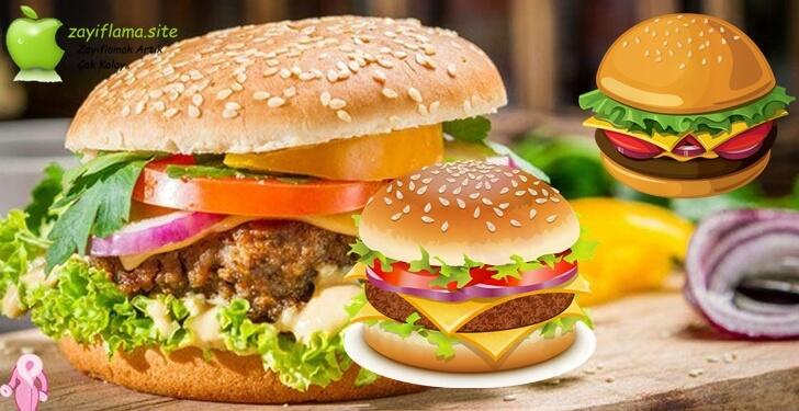 Diyet Hamburger Tarifi ve Püf Noktaları