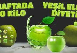 2 Haftada 10 Kilo Verdiren Yeşil Elma Diyeti