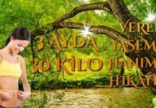 3 Ayda 30 Kilo Veren Yasemin Hanım'ın Zayıflama Hikâyesi