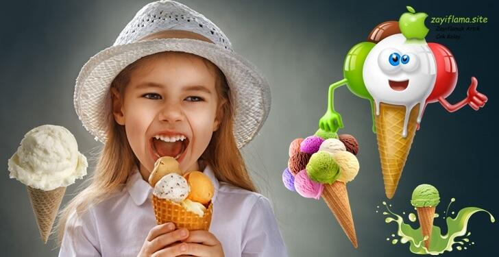 Açık Dondurmaların Kalori Miktarları