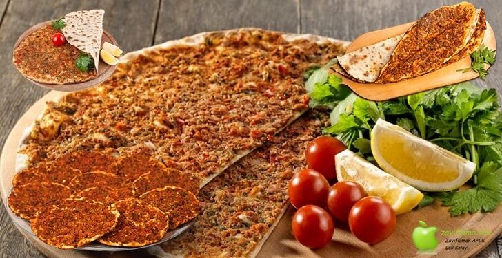 Diyet Yaparken Lahmacun Yenir mi? Kalorisi ve Besin Değerleri