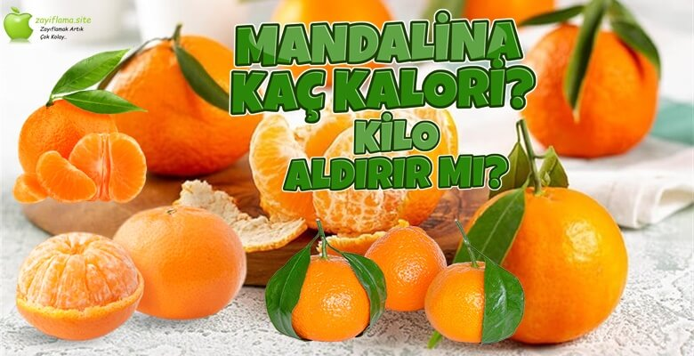 Mandalina Kaç Kalori? Diyette Yenir mi?