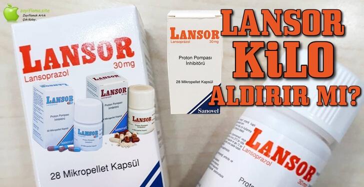 Lansor Kilo Aldırır mı? Zayıflatır mı?