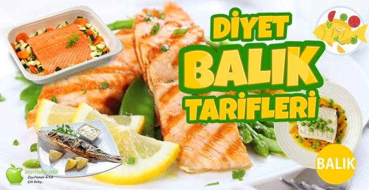 Diyet Balık Tarifleri ve Kalorileri