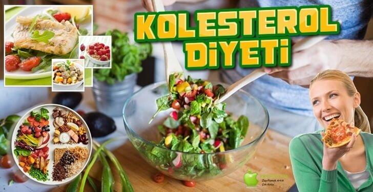 Kolesterol Diyeti – Kolesterol Düşürmek İçin Nasıl Beslenmeli?
