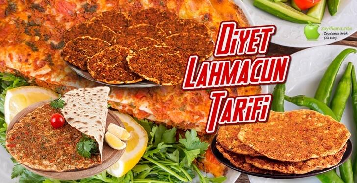 Diyet Lahmacun Tarifi