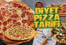 Diyet Pizza Tarifleri ve Kalorisi