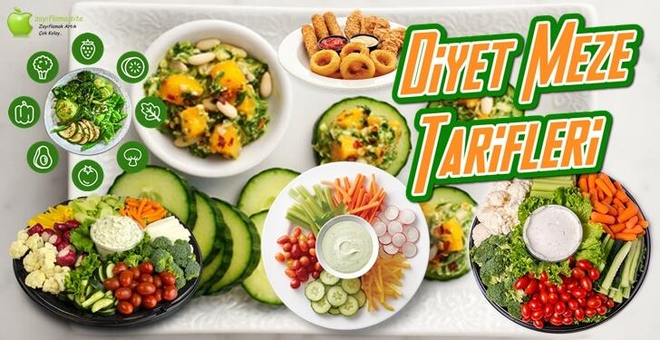 Diyet Meze Tarifleri ve Kalorileri