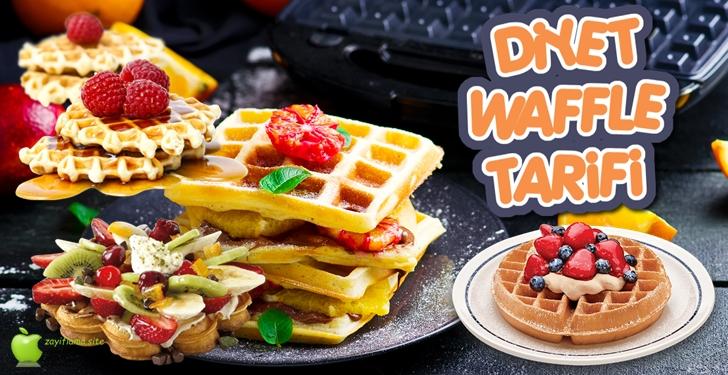 Diyet Waffle Tarifi