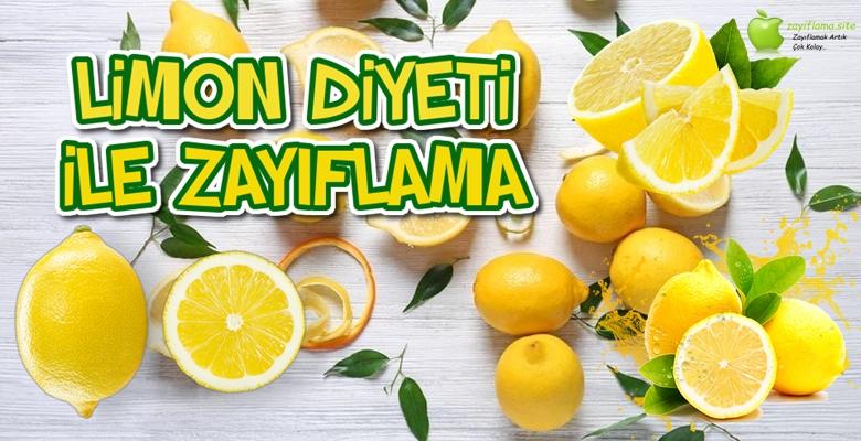 Limon Diyeti ile Zayıflama